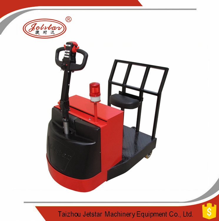 Standing type electric tow tractor for Tow motor operator job description